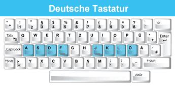 tastatur spiele